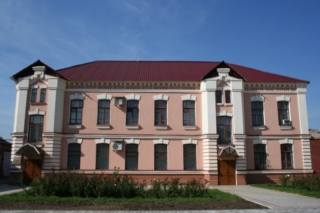 Administrative building of the plant