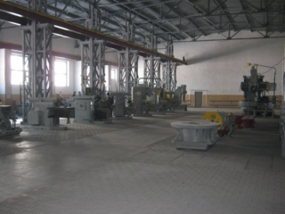 Repair shop for oil and gas and drilling equipment